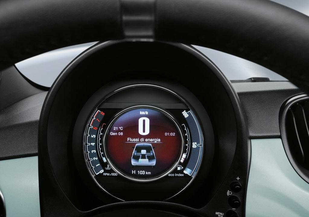 2020 Yeni Fiat 500 Hibrit Donanımları