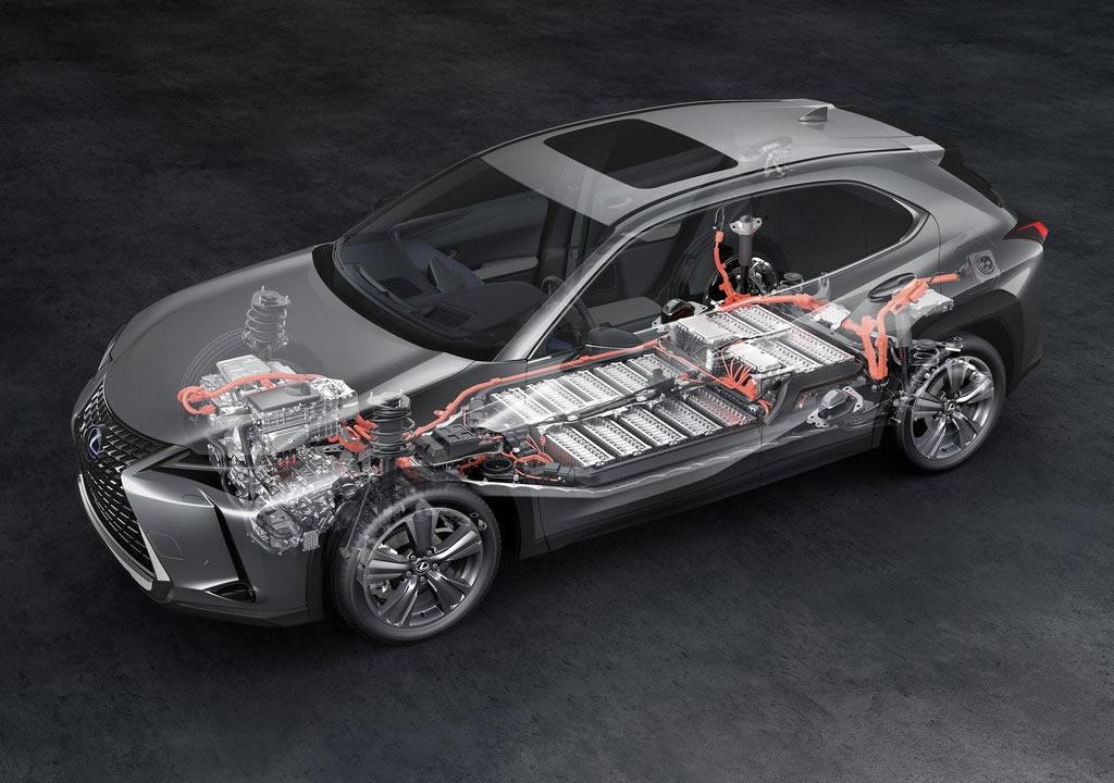 2021 Lexus UX 300e Fotoğrafları