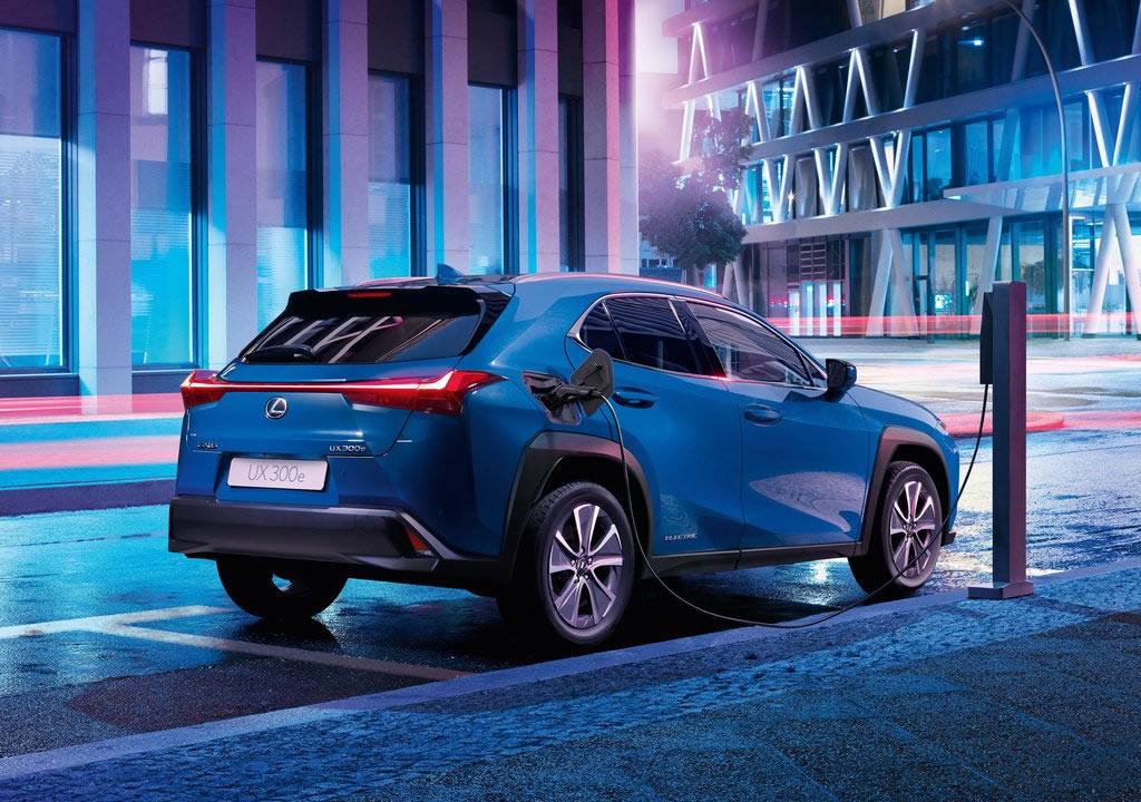 Elektrikli 2021 Lexus UX 300e