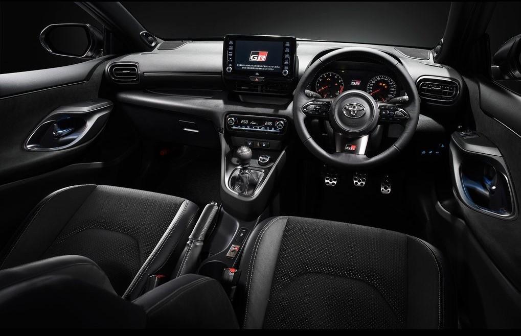 2021 Toyota GR Yaris İçi