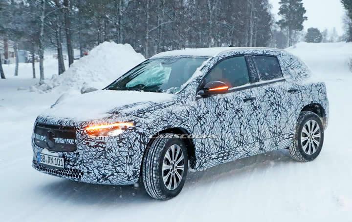Elektrikli 2021 Mercedes-Benz EQA