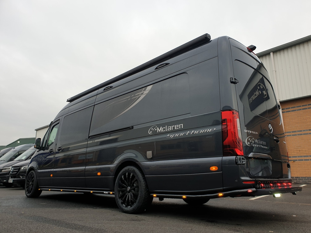 McLaren-Mercedes Sprinter Sports Home Özellikleri