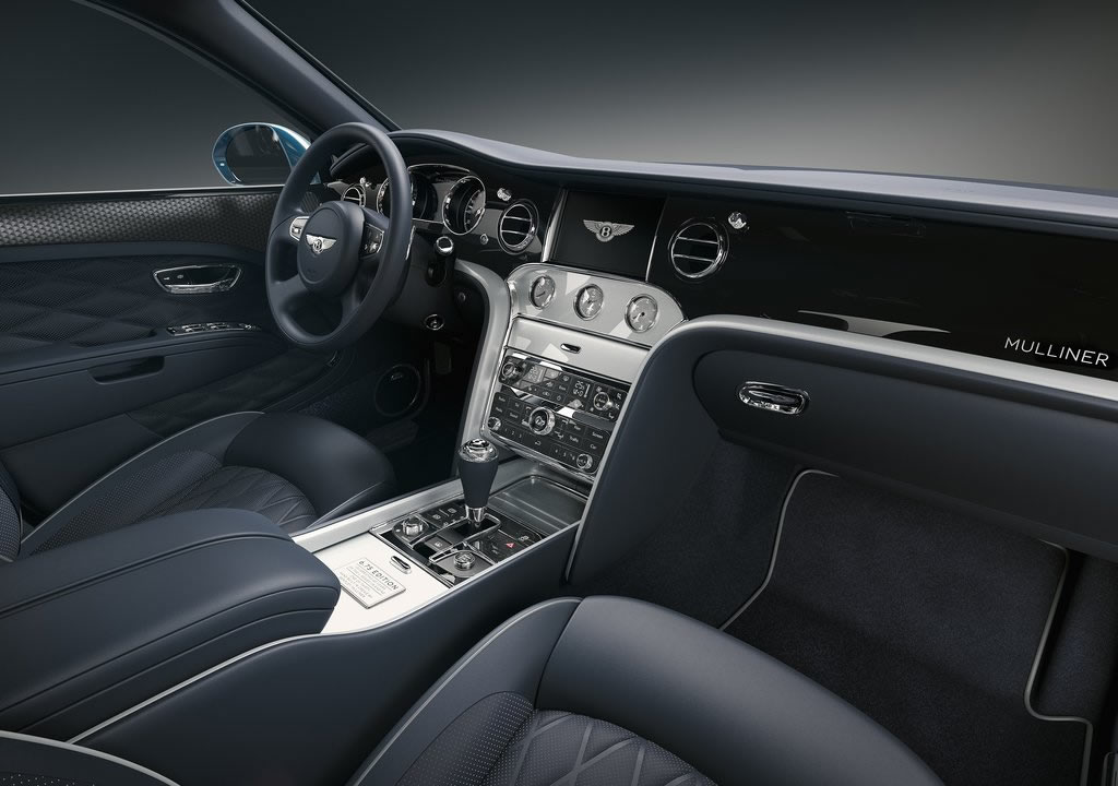 2020 Bentley Mulsanne 6.75 Edition by Mulliner Kokpiti