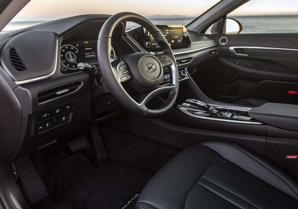 2020 Hyundai Sonata Hybrid Kokpiti