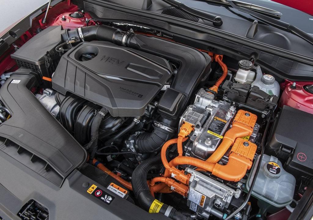2020 Hyundai Sonata Hybrid Motoru