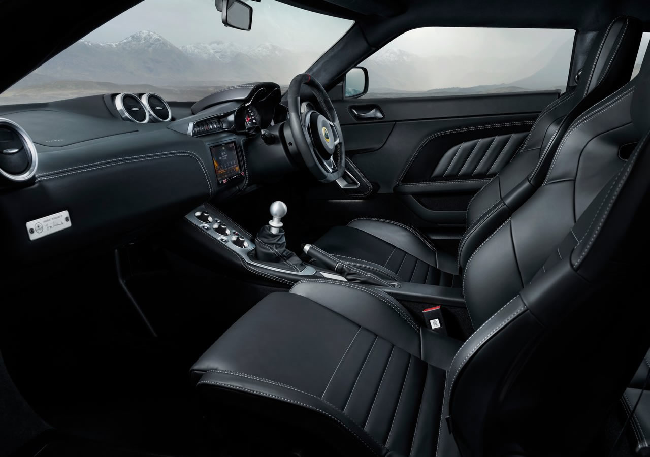 2020 Lotus Evora GT410 Kokpiti