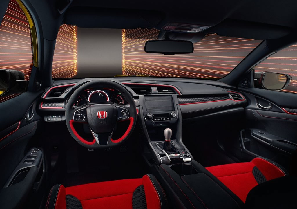 2020 Yeni Honda Civic Type R Limited Edition Kokpiti