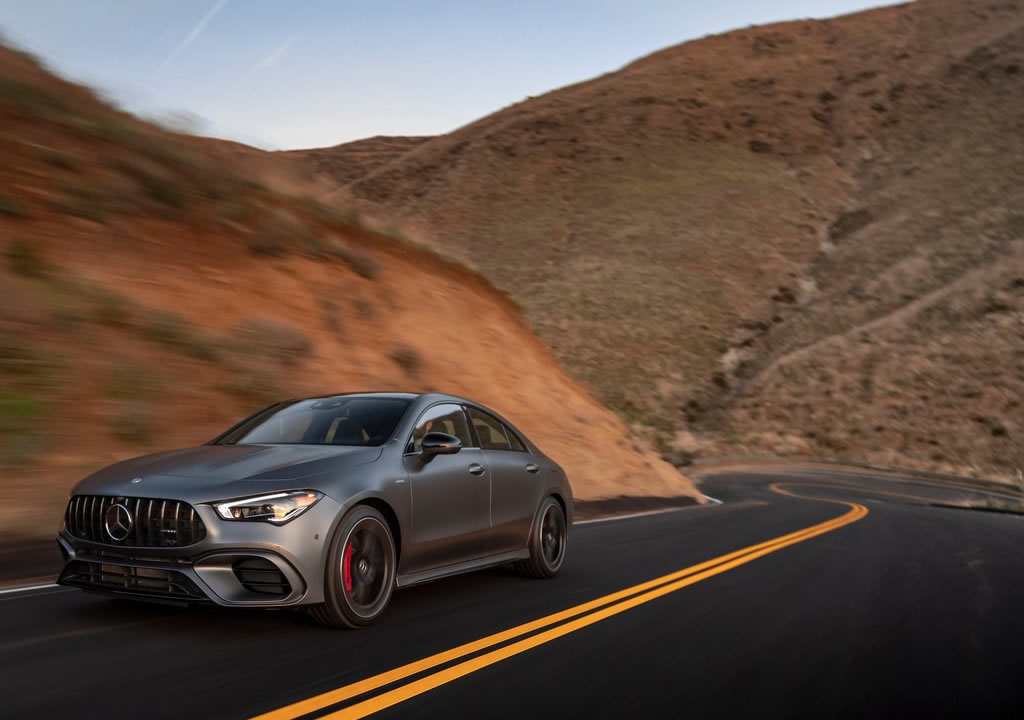 2020 Yeni Kasa Mercedes- AMG CLA45
