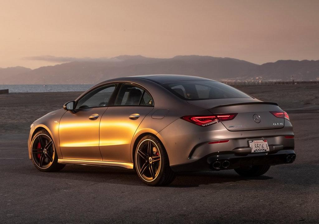 2020 Yeni Mercedes- AMG CLA45