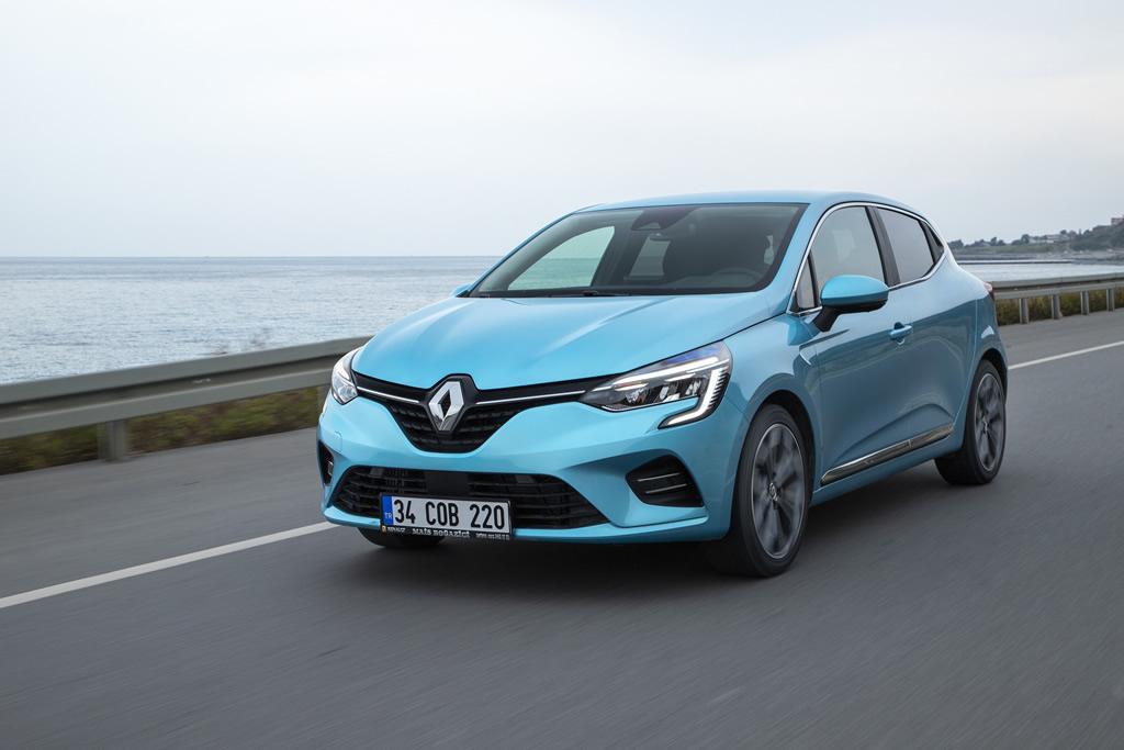 2020 Yeni Kasa Renault Clio 5 Türkiye Donanımları