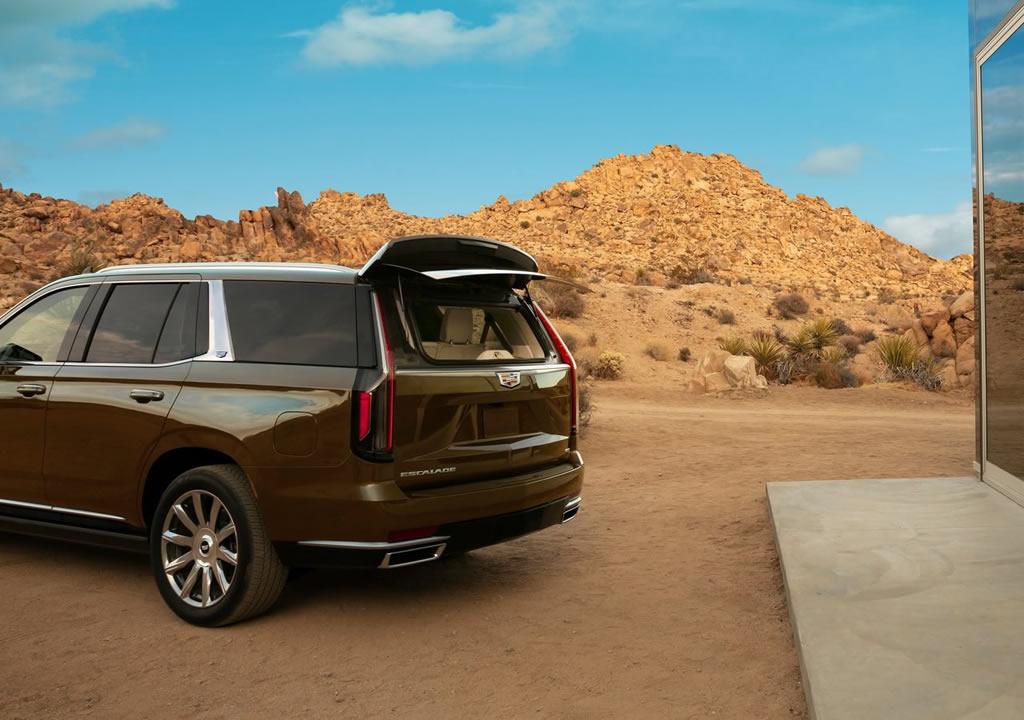2021 Yeni Kasa Cadillac Escalade Arkası