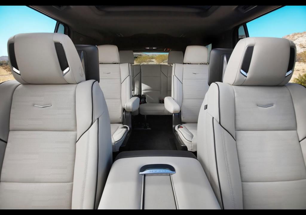 2021 Yeni Kasa Cadillac Escalade Koltukları