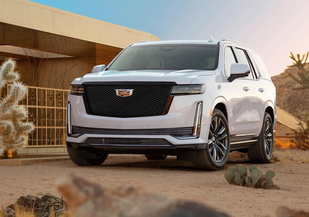 2021 Yeni Kasa Cadillac Escalade