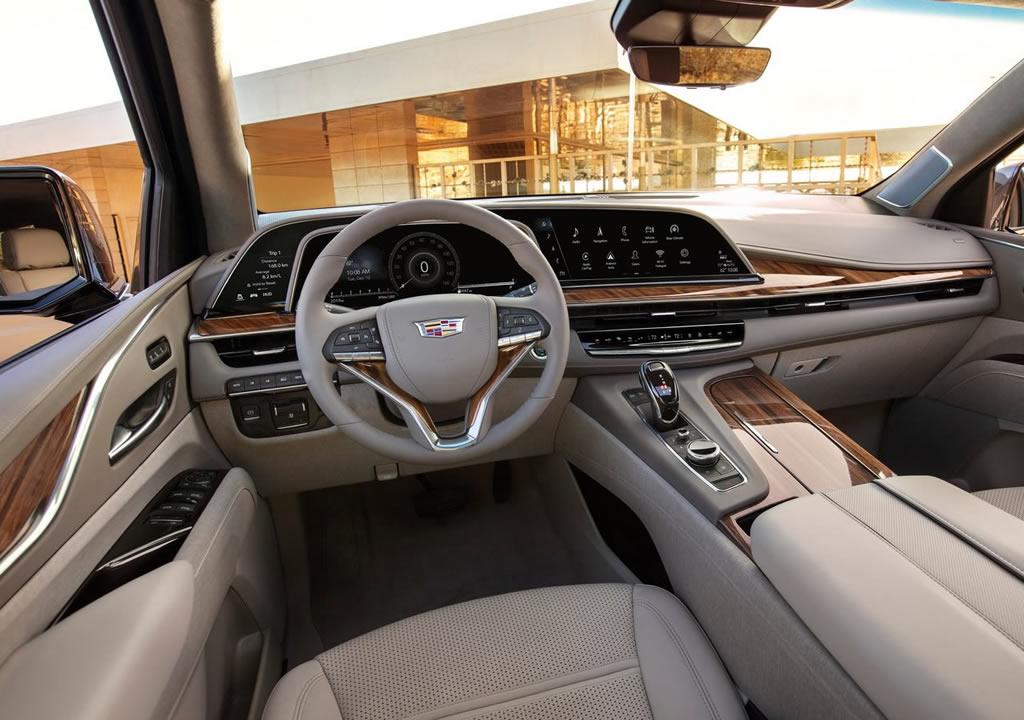 2021 Yeni Kasa Cadillac Escalade İçi
