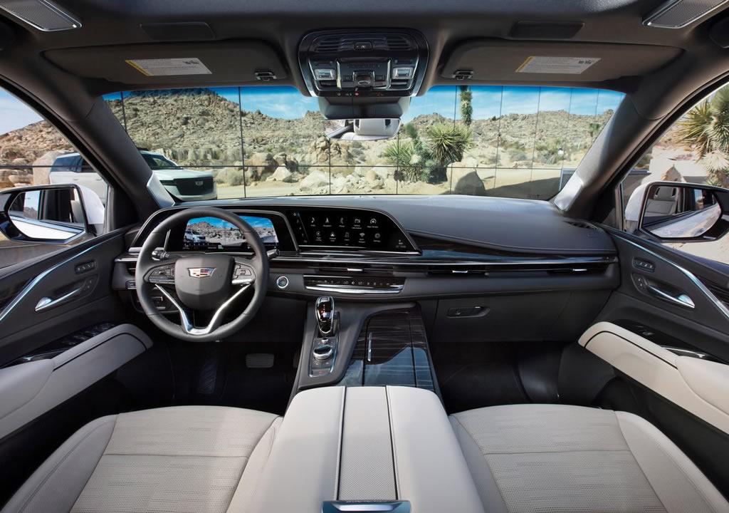 2021 Yeni Kasa Cadillac Escalade Kokpiti