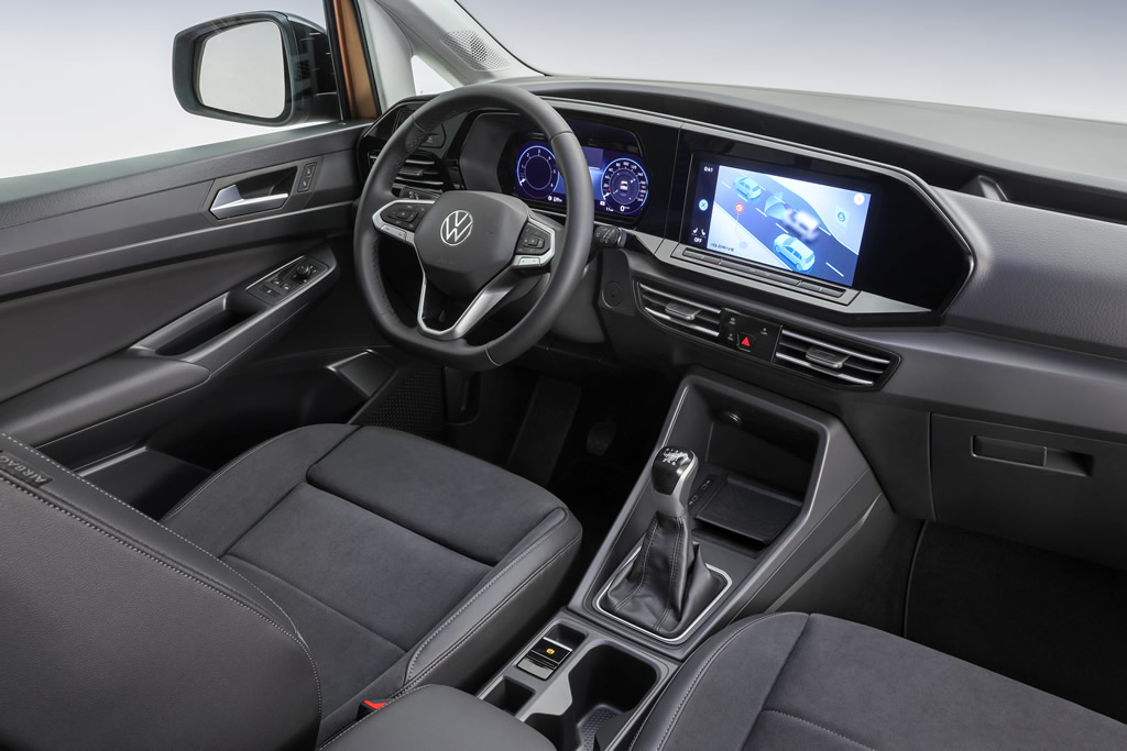 2021 Yeni Kasa Volkswagen Caddy Kokpiti
