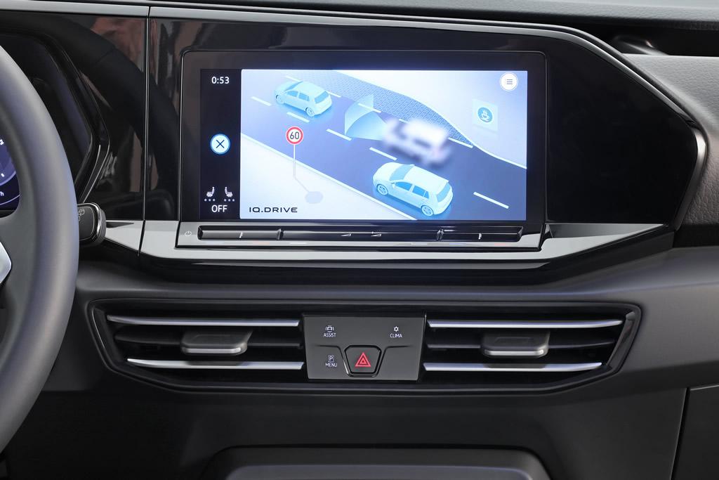 2021 Yeni Kasa Volkswagen Caddy İçi