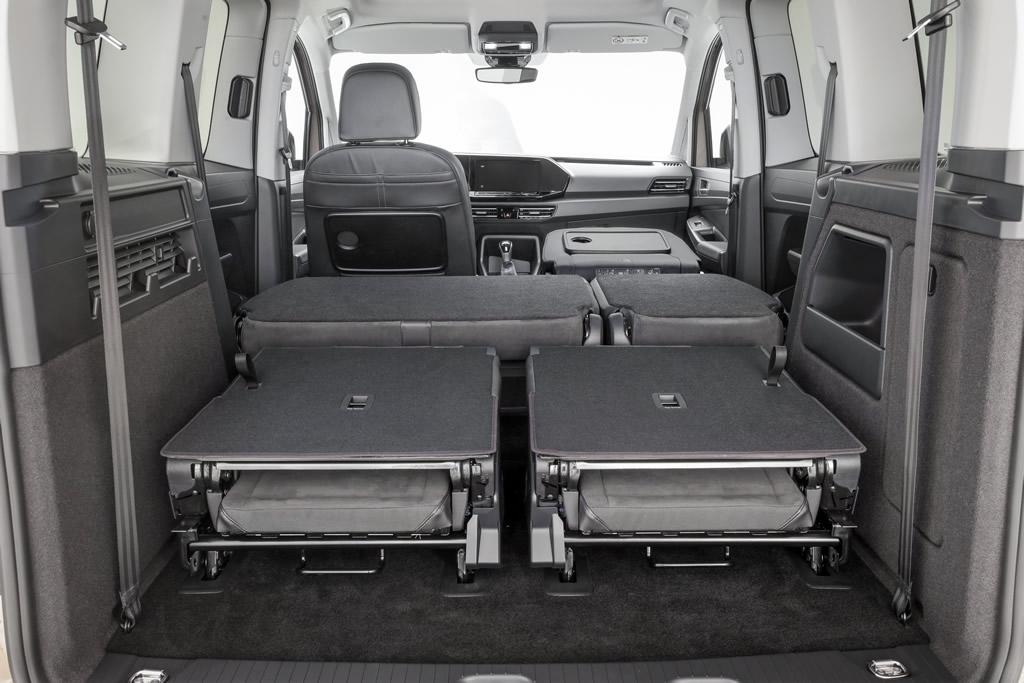 2021 Yeni Kasa Volkswagen Caddy Bagaj Alanı