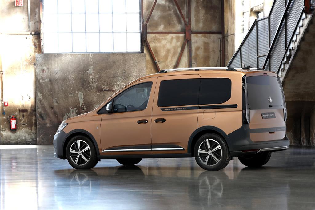 2021 Yeni Kasa Volkswagen Caddy MK5 Teknik Özellikleri