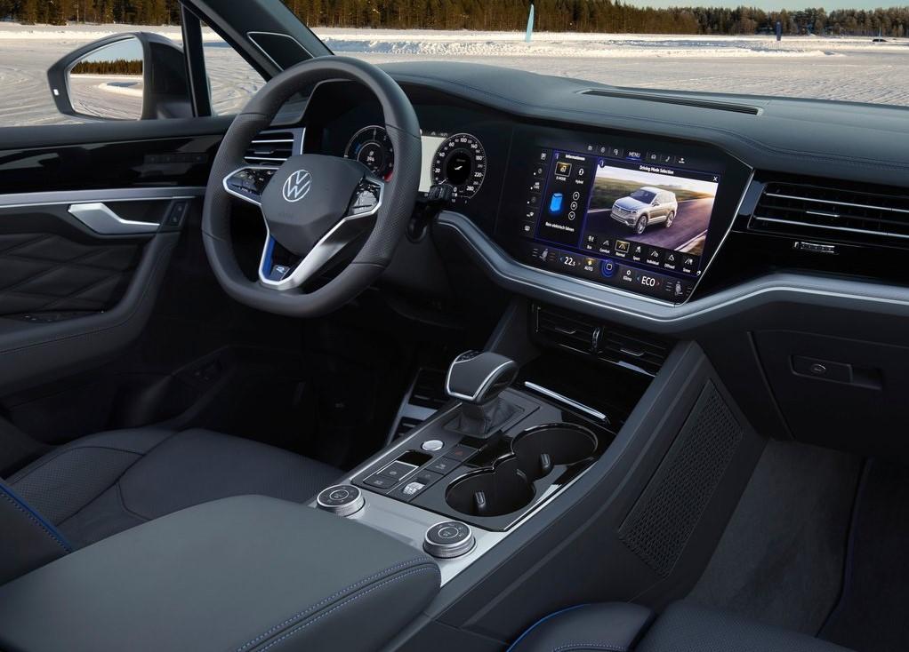 2021 Yeni Volkswagen Touareg R İçi