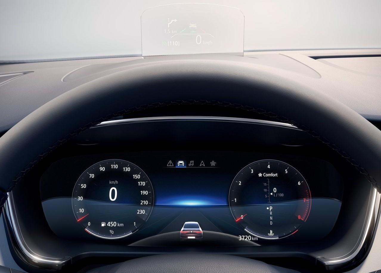Makyajlı 2020 Renault Talisman İçi