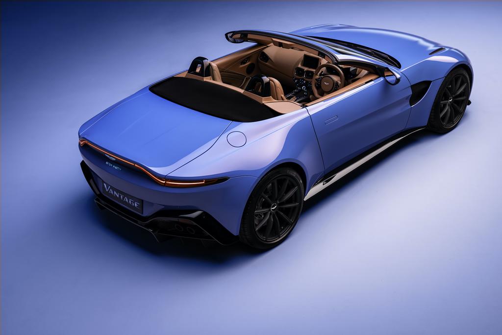 2020 Yeni Aston Martin Vantage Roadster Donanımları