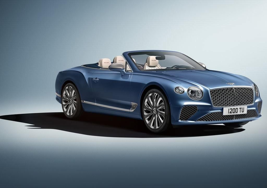 2020 Yeni Bentley Continental GT Mulliner Convertible