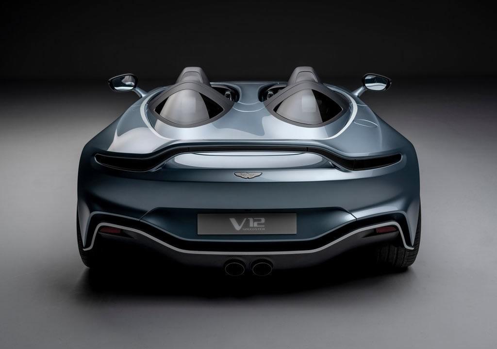 2021 Aston Martin V12 Speedster Donanımları