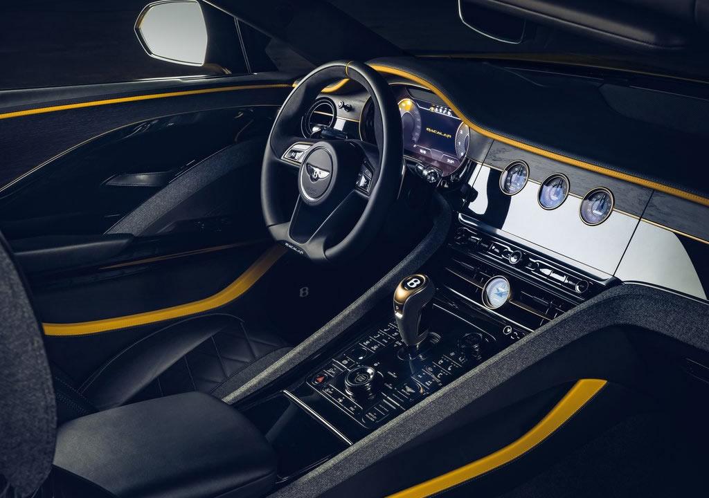 2021 Bentley Mulliner Bacalar Kokpiti