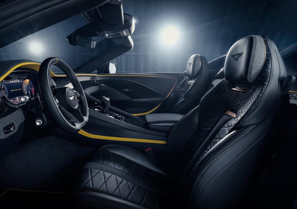 2021 Bentley Mulliner Bacalar İçi