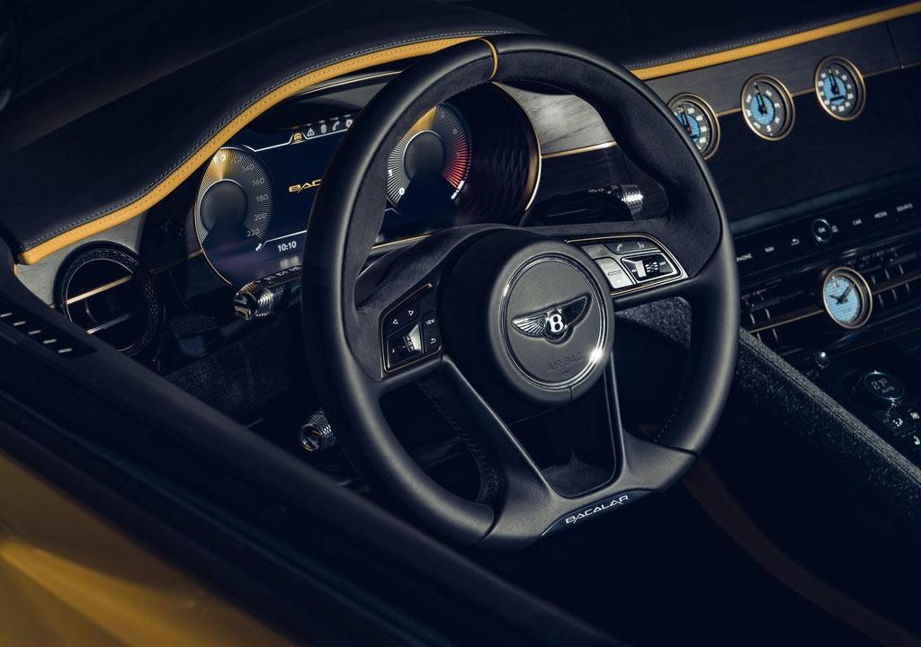 2021 Bentley Mulliner Bacalar Interior