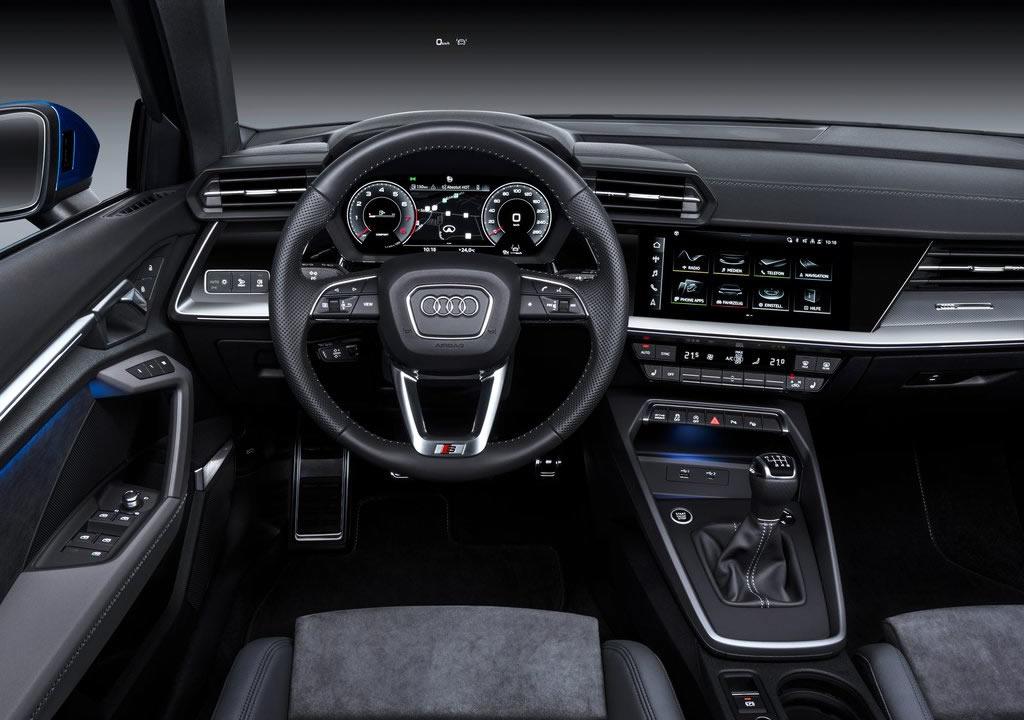 2021 Yeni Kasa Audi A3 Sportback İçi