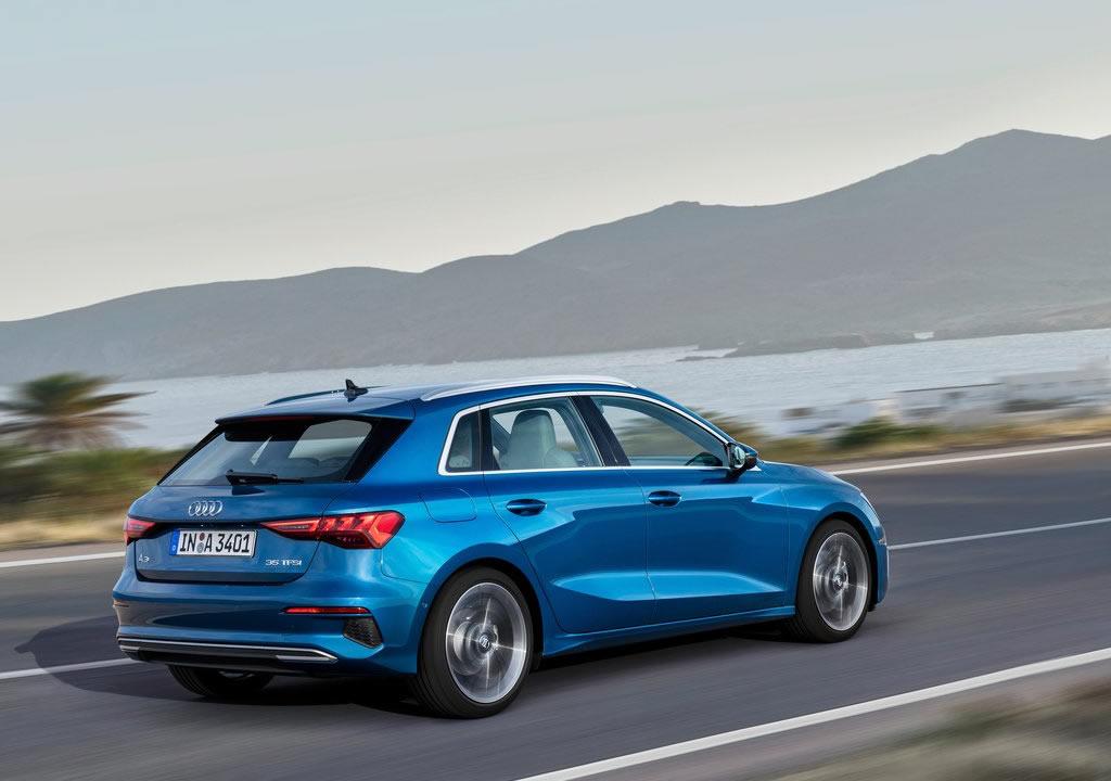 2021 Yeni Kasa Audi A3 Sportback Özellikleri
