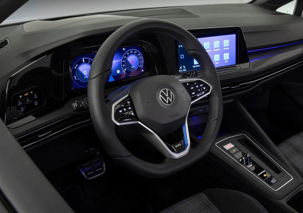 2021 Volkswagen Golf GTE Interior