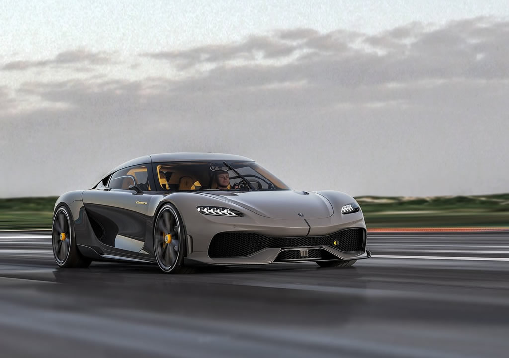 2021 Yeni Koenigsegg Gemera