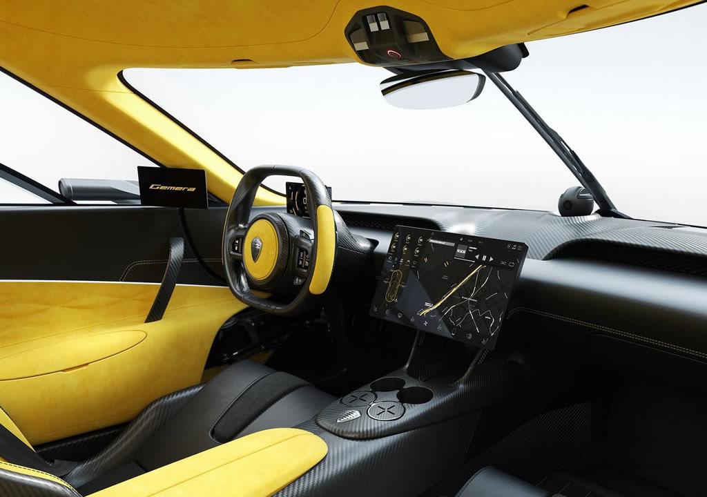 2021 Yeni Koenigsegg Gemera İçi