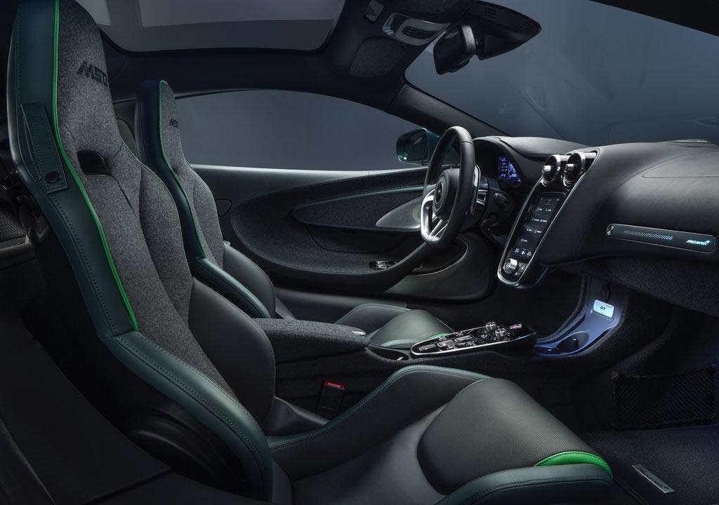 2020 Yeni McLaren GT Verdant by MSO Kokpiti