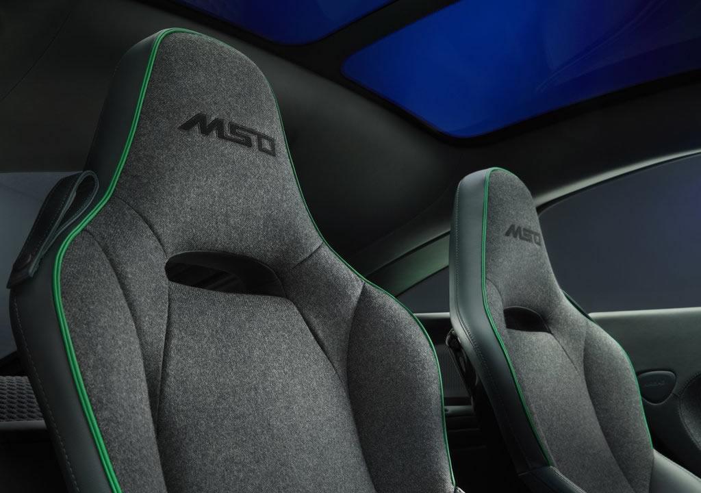 2020 McLaren GT Verdant by MSO Interior