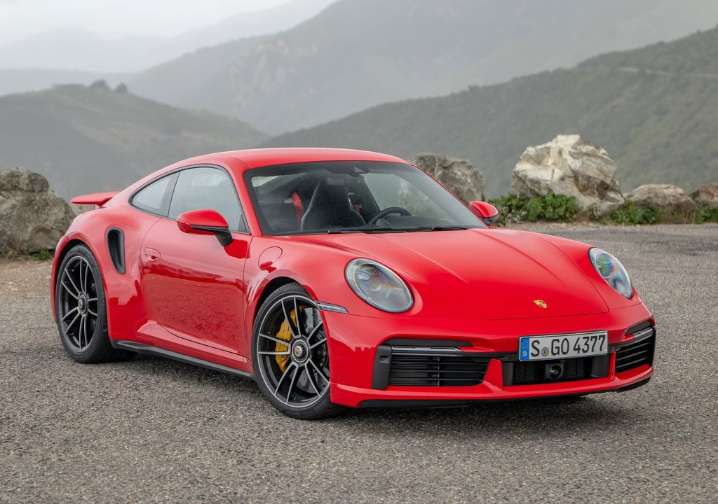 2021 Yeni Kasa Porsche 911 Turbo S