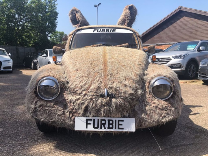 Furbie VW Beetle