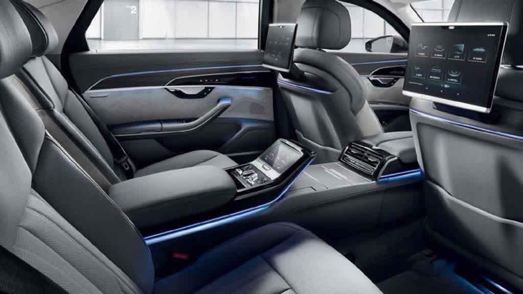 2020 Yeni Audi A8 L Security Donanımları