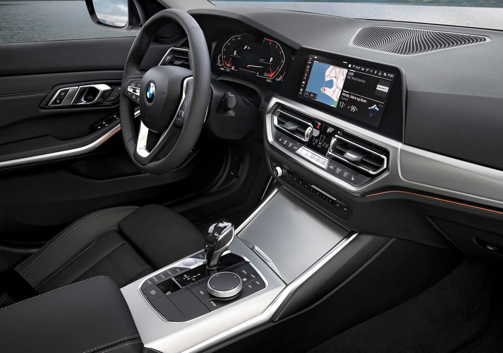 2020 Model BMW 3 Serisi Kokpiti