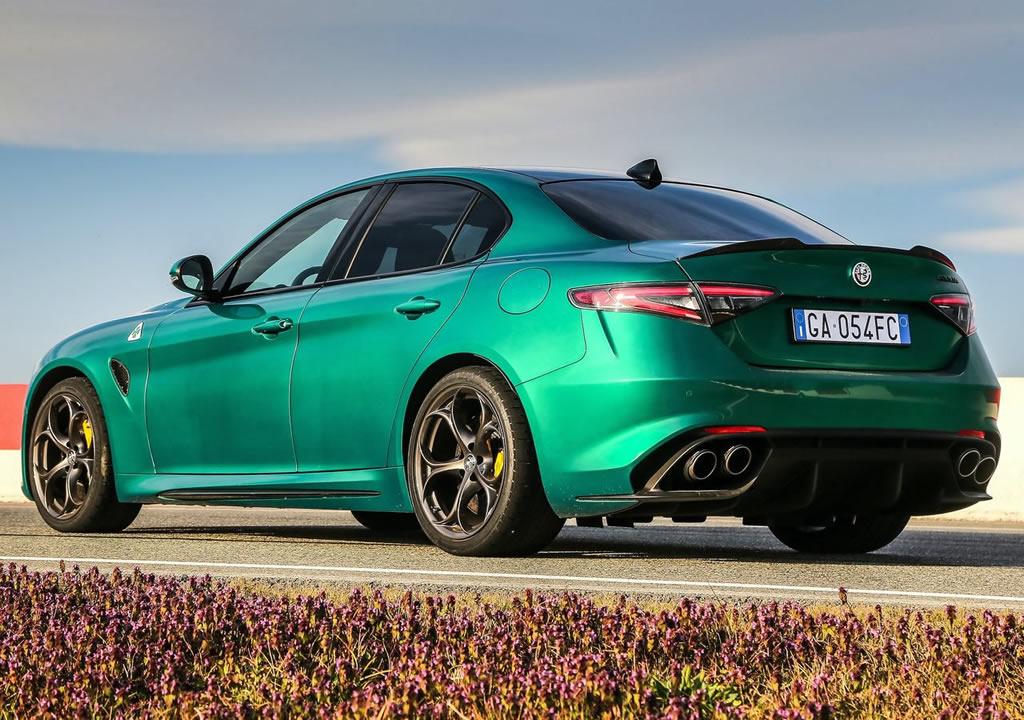 2020 Yeni Alfa Romeo Giulia Quadrifoglio Teknik Özellikleri