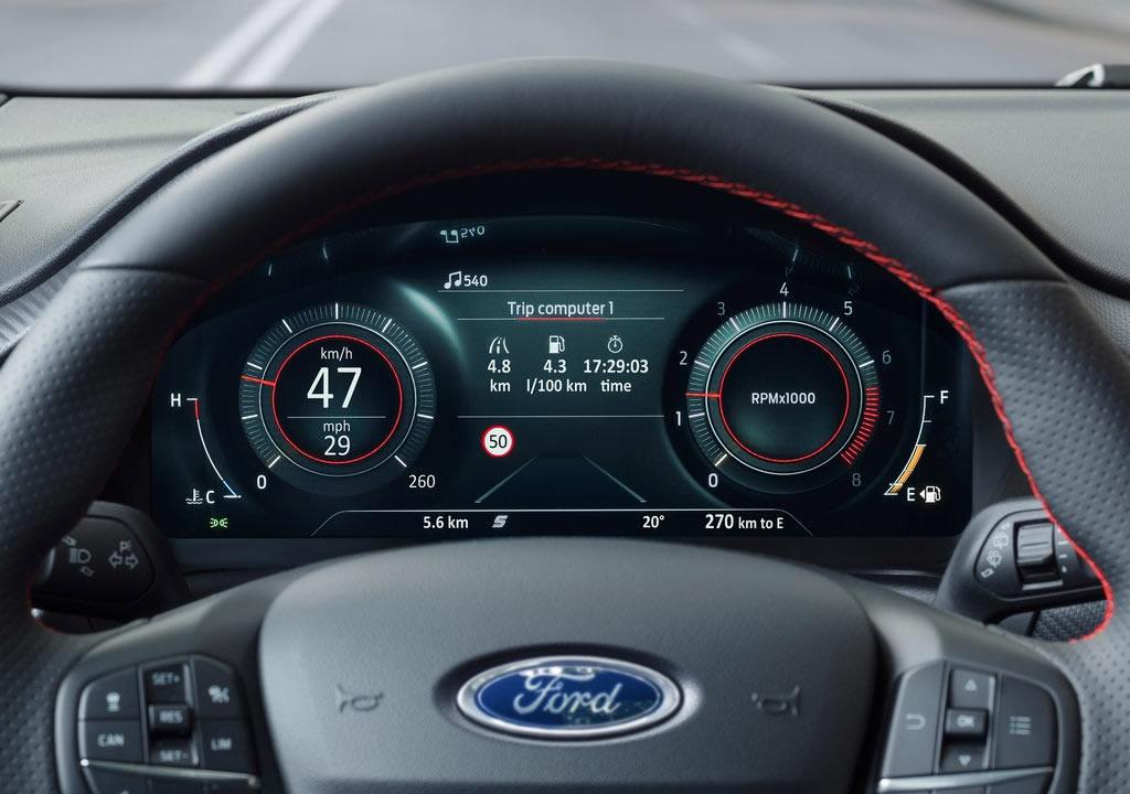 Yeni Ford Puma Kokpit