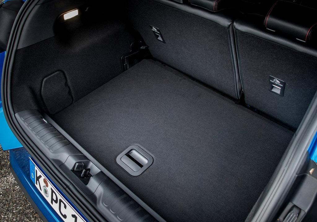 Yeni Ford Puma Bagaj Alanı