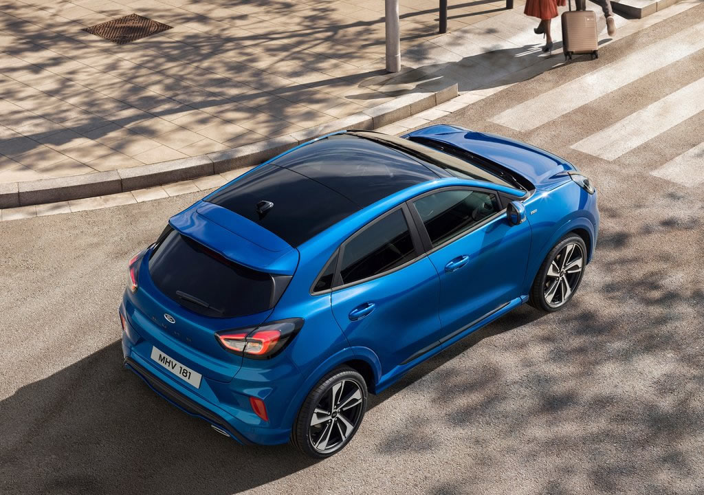 2020 Yeni Ford Puma Fotoğrafları
