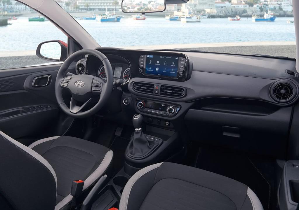 2020 Yeni Kasa Hyundai i10 İçi