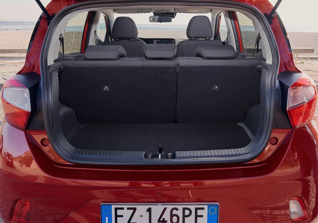 Yeni Kasa Hyundai i10 Bagaj Alanı