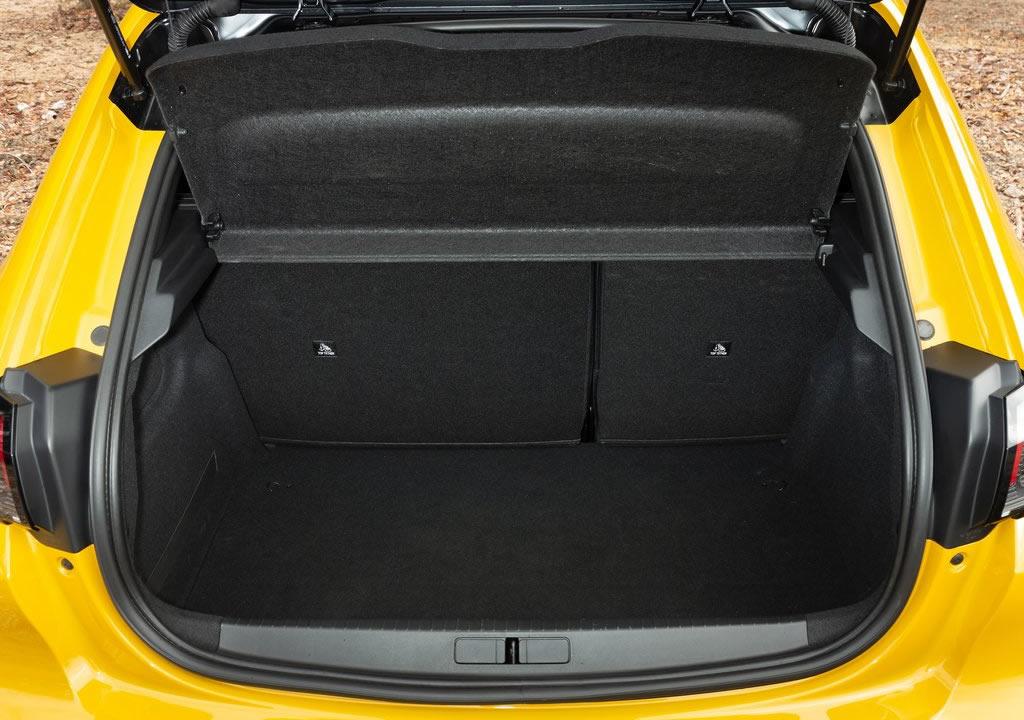 2020 Yeni Peugeot 208 Bagaj Alanı