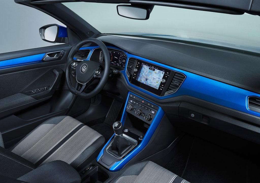2020 Yeni VW T-Roc Cabriolet İçi
